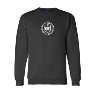Big Daddy Embroidered Crewneck Sweatshirt (Black)