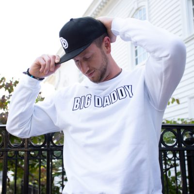 Big Daddy White Crewneck Sweatshirt