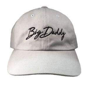 Big Daddy Dad Hat in grey