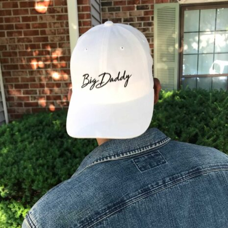 Big Daddy White Dad Hat