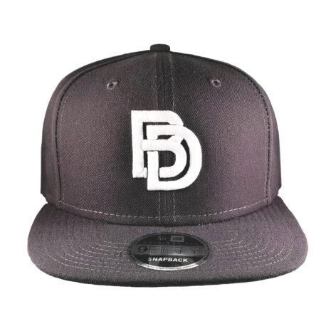 "Big Daddy Puff ""Logo"" Snapback Hat (Graphite)"