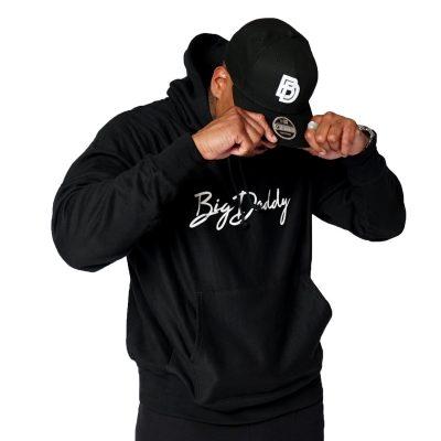 """Big Daddy Puff """"Logo"""" Snapback Hat (Black)"""