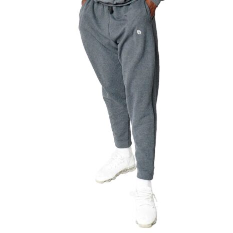 Big Daddy Embroidered Logo Joggers (Black Heather)