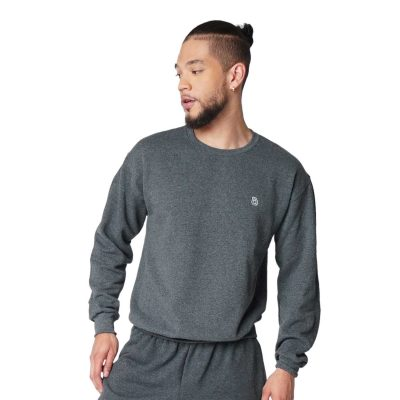 Big Daddy Logo Crewneck Sweatshirt (Black Heather)