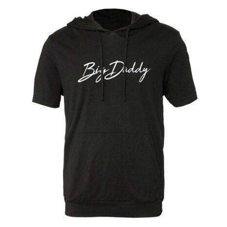 "Big Daddy ""Signature"" Short Sleeve Hoodie (Black)"