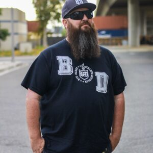 Big Daddy Crest Tee (Black)