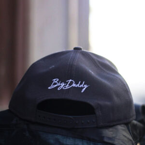 Big Daddy Puff Logo Snapback Hat (Black)