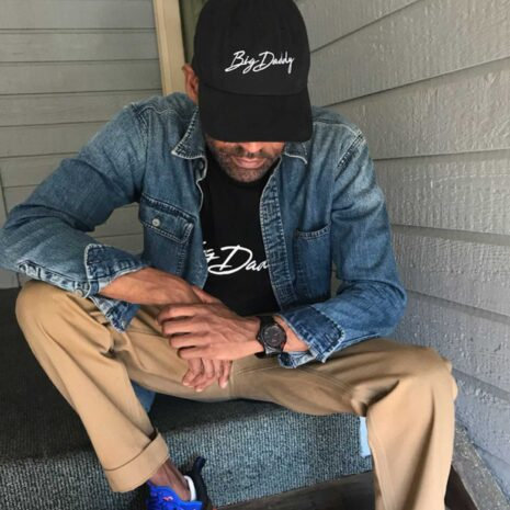 "Big Daddy ""Signature"" Dad Hat (Black)"