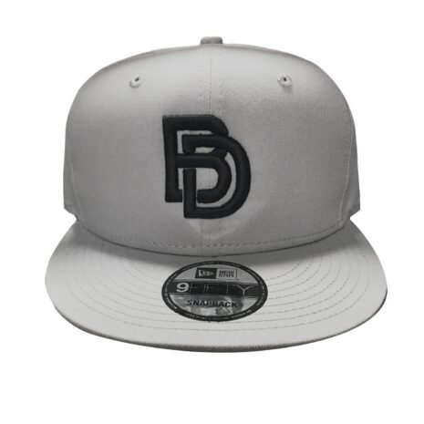 "Big Daddy Puff ""Logo"" Snapback Hat (Grey)"