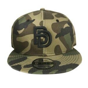"""Big Daddy Puff """"Logo"""" Snapback Hat (Camo)"""