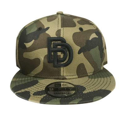 "Big Daddy Puff ""Logo"" Snapback Hat (Camo)"