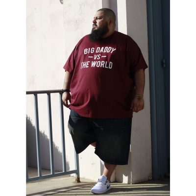 Big Daddy vs The World Tee (Garnet)