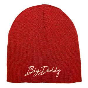 Big Daddy Red Beanie Hat