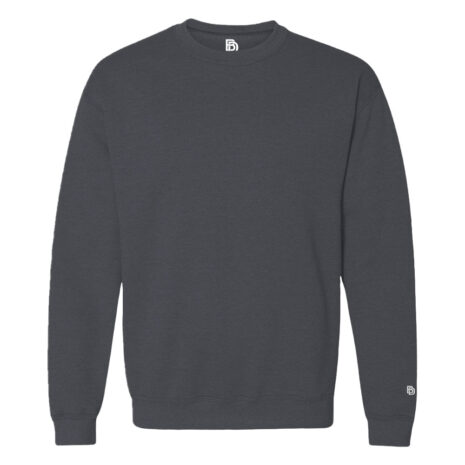 Big Daddy Basics Dark Heather Crewneck Sweatshirt