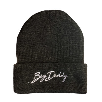 Big Daddy Knit Beanie (Dark Grey Heather)
