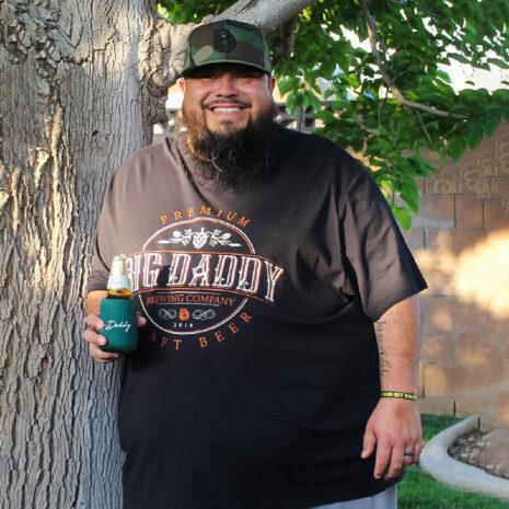 Big Daddy Brewing Company Tee in Black