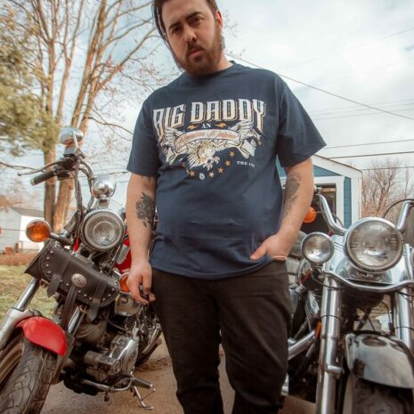 Big Daddy American Original Tee in Navy2
