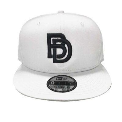 Big Daddy BD White/Black Snapback Hat