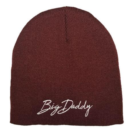 Big Daddy Maroon Beanie Hat