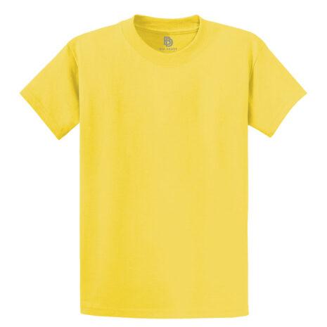 Big Daddy Summer Basics Yellow Tee