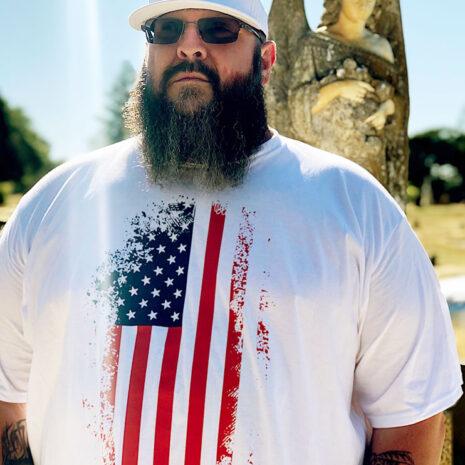 Big Daddy USA Flag Tee 1