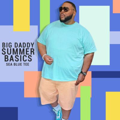 Big Daddy Basics Sea Blue Tee