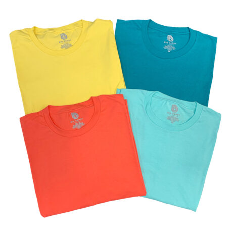 Big Daddy Summer Basics in 4 colors