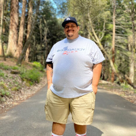 Big Daddy USA Tee in White