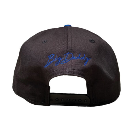 BD00800079-Black and Blue Hat-Back
