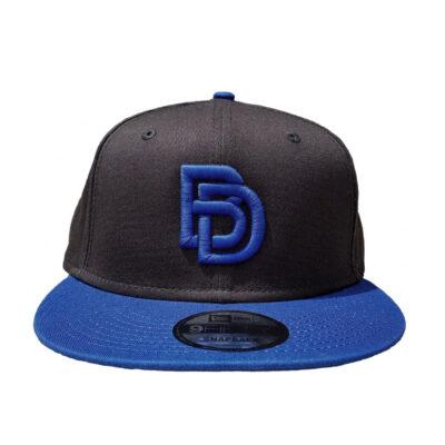 Big Daddy Puff Logo Hat (Black/Royal)