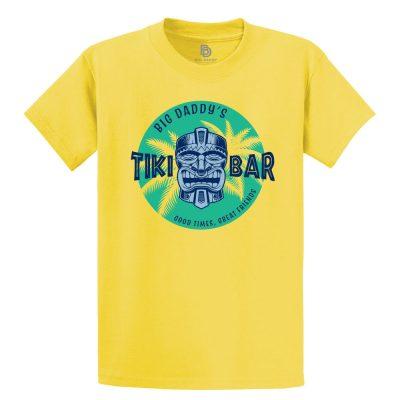 Big Daddy's Tiki Bar Tee in Yellow