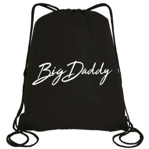 Big Daddy Signature Drawstring Bag (Black)